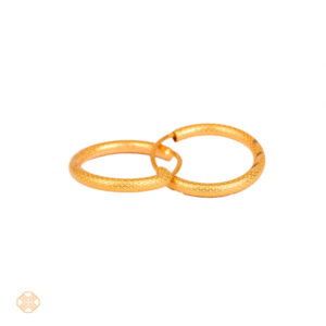 گوشواره حلقه ای ساده