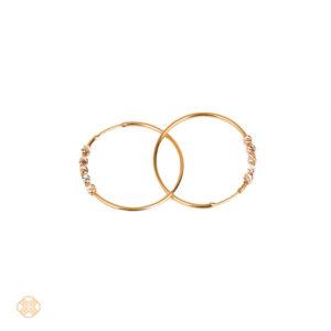 گوشواره حلقه ای طرح نرمال