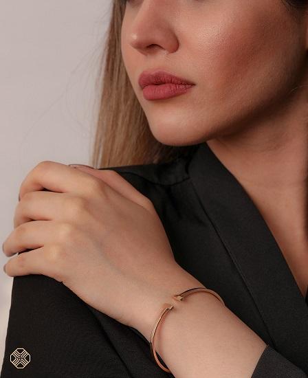 دستبند النگویی کارتیر مدل نرمال