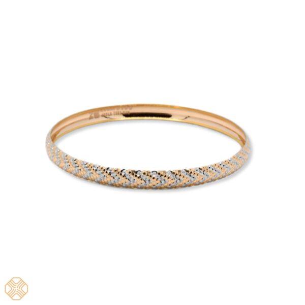 النگو اپل کد۱۰۰ | گالری طلا و جواهر نیازی