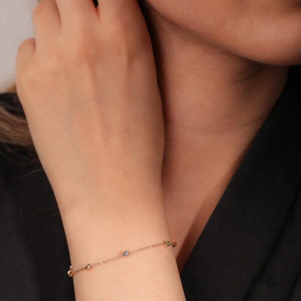 دستبند گوی | گالری طلا و جواهر نیازی